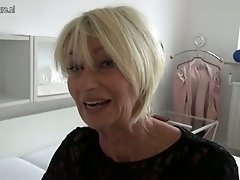 Old incredibly hot German slut loves playing with herself on camera