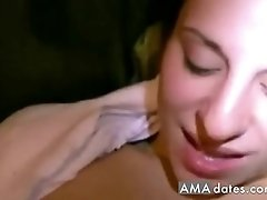Wife cheats and shows great passion for big black cock