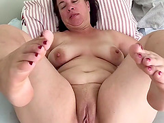 Hot sex with a horny mature