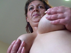 Randy Elanore has a lot of fun with her gaping vagina