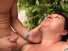 Dicking a plump mature lady Mariann who wants more and more