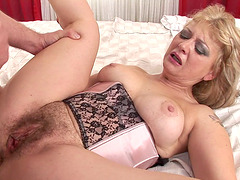 Handsome doctor seduced by cock craving blonde Beata