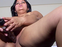 Sofia finds her dildo the greatest source of satisfaction