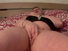 Charlott's pussy is big, wet and craving for a big fat dick